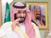 بالصور.. ولي ولي العهد يعايد كبار القادة والمسئولين في وزارة الدفاع