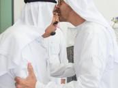 بالصور.. #الملك_سلمان يستقبل ولي عهد أبو ظبي ويستعرض معه العلاقات الأخوية