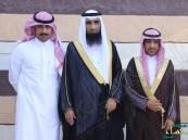 """عمدة """"الشقيق"""" يحضر مجلس """"بوحمد"""" لاستقبال المهنئين بالعيد"""