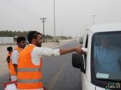 """تطوعي """"الشويهين"""" يختتم أنشطته على """"الطريق"""" ويطلق شعاره الجديد"""