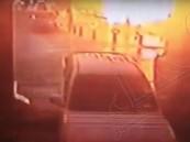 بالفيديو.. كاميرا مراقبة تُظهر لحظة وقوع تفجير المدينة المنورة
