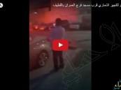 شاهد.. يقظة مواطنين أنقذت 1000 مصلٍّ من انفجار #القطيف