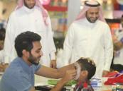 بر الأحساء تشارك 150 طفلا فرحة العيد