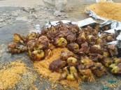 خلال رمضان.. 37 مليون كجم بقايا أطعمة في حاويات تبوك