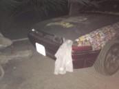 """بالصور.. في #الأحساء """"وكر"""" تزويد سيارات المفحطين في قبضة الأمن"""