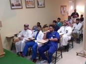 """بالصور .. مستشفى الجفر ينظم دورة """"الرعاية العلاجية لمرضى داء السكري"""""""