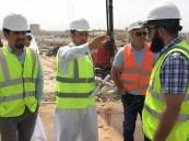 أمين الاحساء: انجاز 80% بمشروع جسر تقاطع طريقي (الملك فهد – الديوان)