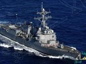بالفيديو… البحرية الإيرانية تعترض مدمرة أميركية بشكل خطير !