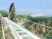 بالفيديو… #الصين تفتتح أطول جسر زجاجي في العالم !