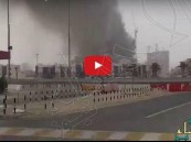 شاهد.. حريق هائل بأحد أبراج #دبي