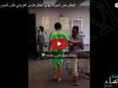 بالفيديو.. طفل أهلاوي مريض يتلقى هدية غير متوقعة من السومة