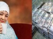 الخادمة المليونيرة تنتظر الحصول على 100 مليون من ميراث زوجها السعودي !