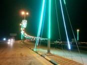 """بالصور .. بلدية """"سلوى"""" تزدان استعداداً لعيد الأضحى المبارك"""