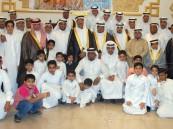 """الغزال تحتفل بزواج """"حسنين"""" و """"إبراهيم"""""""