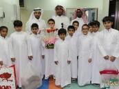 بالصور .. عمار بن ياسر تحتفي باليوم الوطني مع مرضى مستشفى الأطفال