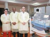نجاح مستشفى الموسى التخصصي بالحفاظ على حياة خديج ولد في الشهر السادس