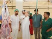 بالصور.. أمين #الأحساء يُشرف على خطط تجهيز المسالخ لاستقبال عيد الأضحي