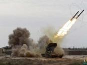 """بالفيديو.. """"الدفاع الجوي"""" تعترض صاروخاً بالستياً في سماء خميس مشيط"""
