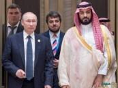 بالصور… ولي ولي العهد يجتمع مع الرئيس الروسي بوتين