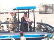 بالصور.. #ولي_العهد يرعى حفل استعراض قوات أمن الحج