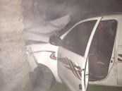 بالصور … الظلام الدامس والضباب يتسببان بحادث بدوار العقير ويخلف أربع اصابات