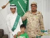 متوسطة ثابت بن قيس تكرم جنود الوطن البواسل في احتفالية يوم الوطن