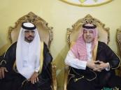 """بالصور وبحضور الأمير محمد بن متعب .. """"ضيدان"""" عريساً"""