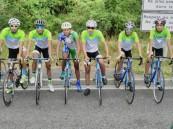 فريق الدراجات بنادي الفتح يواصل استعداده للموسم الرياضي المقبل 2017/2016م