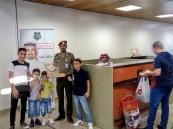 """جوازات """"مطار #الأحساء"""" تبتهج بالعيد وسط المسافرين"""