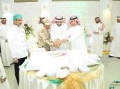 """""""صحية"""" الحرس الوطني بالشرقية تعايد المرضى وتحتفل مع موظفيها بعيد الأضحى"""