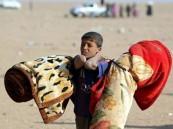 سرقة مساعدات الفارين من الموصل