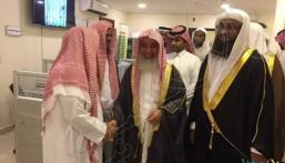 """بالصور.. الشيخ """"المطلق"""" يفتتح المكتب الرئيسي للدعوة والإرشاد وتوعية الجاليات المبرز"""