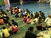 إفطار جماعي بنادي الحي بمدرسة الخالدية المتوسطة