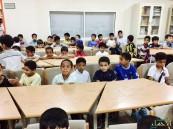 """إبتدائية أبي أيوب الأنصاري تنفذ برنامج """"مدرستي بيتي"""" لطلابها"""