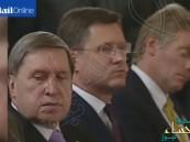 بالفيديو… المتحدث باسم بوتين ينام خلال مؤتمر صحفي رسمي مع أردوغان