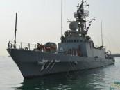 بالصور.. سفن البحرية السعودية تصل إلى ميناء قاعدة سلمان البحرية بالبحرين