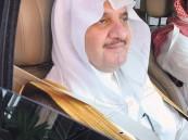 صورة الأمير سعود بن نايف تحفز الشباب على ربط حزام الأمان