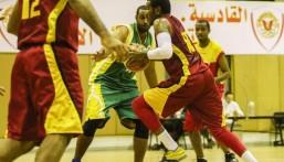 الروضة يفوز على القادسية في المباراة الودية لكرة السلة