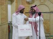 بالصور … مسجد علي بن أبي طالب يكرم الفائزين في مسابقة يوم عاشوراء