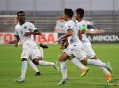 بالصور .. الأخضر الشاب ينعش آماله برباعية تايلاند