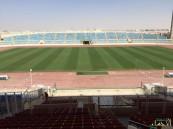 بالصور .. ملعب #الأحساء جاهز رسمياً لمواجهة #الفتح و #الاتفاق