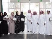 """بالصور.. """"العبّاد"""" يطور مهارات منسوبي التليفزيون السعودي بالشرقية"""