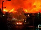 شاهد.. إسرائيل تحترق و5 دول أوروبية ترسل طائراتها لإخماد النيران