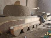 داعش يستخدم دبابات وأسلحة خشبية وبلاستيكية للتمويه في نينوى