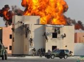 """بالصور.. ملك البحرين يرعى ختام فعاليات تمرين """"أمن الخليج العربي1"""" بحضور ولي العهد"""