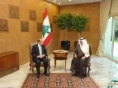 خادم الحرمين يدعو الرئيس اللبناني ميشال عون لزيارة المملكة في أقرب فرصة