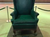 """في """"سفاري بقيق"""".. تعرّف بالصور على """"كرسي الملوك"""": جلس عليه 3 من ملوك السعودية"""