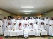 """المدرب""""البقمي"""" وإدارة التطوع بجمعية البر في ضيافة مركز محاسن الاجتماعي"""