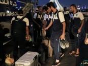 بالصور.. بعثة الفتح تصل إلى الدوحة لبدء المعسكر الإعدادي