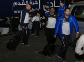 بالصور .. #الفتح يصل حفر الباطن .. ويؤدي مراناً خفيفاً